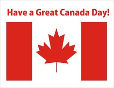 We'd like to wish all of our Canadian customers a happy and safe Canada Day today! Enjoy your holiday!