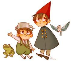 over the garden wall chibi - Google Search