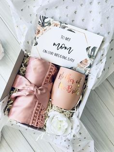 Bridesmaid Gifts From Bride, Mother Of Bride Gifts, Wedding Gifts For Parents, Bridesmaid Gift Boxes, Bridesmaid Proposal Gifts, Bridesmaid Baskets, Mother Of The Bride, Bridal Gifts For Bride, Wedding Gift Baskets