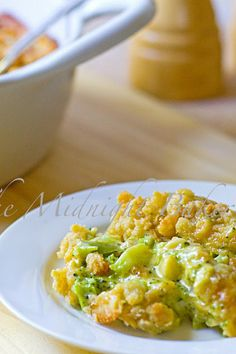 Buttery Broccoli Cheese Casserole