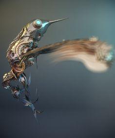 Steampunk - Hummingbird