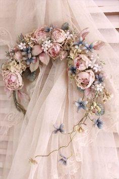 ❤️ Vintage style flowers