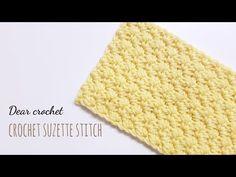 [코바늘 기초 스티치 패턴] 수제트 스티치 (crochet suzette stitch) - YouTube Loom Crochet, Crochet Videos, Loom Knitting, Crochet Patterns, Crochet Hats, Diy And Crafts, Stitch, Bags, Crocheting