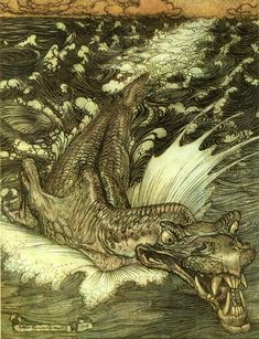 Rackham Fairy and Fairy Tale Art (Arthur Rackham)