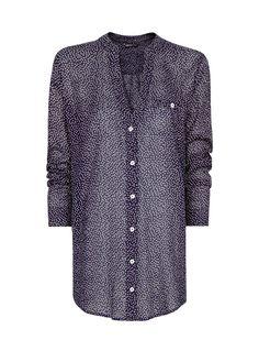 MANGO - Dots print blouse