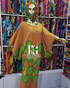 Latest Unique Ankara Gowns designs that are now trending in the society right now African Dresses For Kids, African Maxi Dresses, Ankara Gowns, African Attire, African Wear, African Women, African Blouses, Ankara Skirt And Blouse, African Traditional Dresses