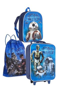 Primark - Conj. malas de viagem Star Wars