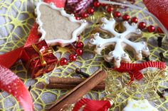 Sablés de Noël à la noisette, cannelle et clou de girofle