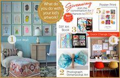 Top 5 Ideas for Displaying Kids Artwork