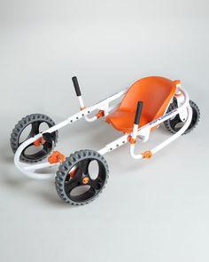 Explorer Three-Wheel Go-Kart - Neiman Marcus - Autos 2019 Mini Buggy, Vw T1 Samba, Soap Box Cars, Traction Avant, Car For Teens, Drift Trike, Third Wheel, Pedal Cars, Bike Design