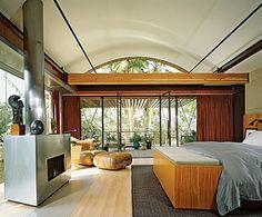 Ashton and Demi's bedroom.