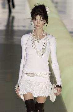 Chanel at Paris Fashion Week Fall 2003 - StyleBistro