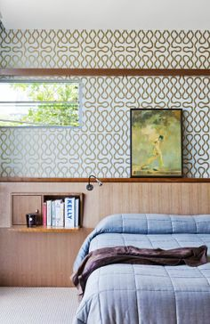 Gotta love that Vivienne Westwood squiggle paper for a bedroom. available at walnut wallpaper #wallpaper