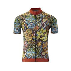 Mexican Outfit Discover Mexican Candy Skull Jersey by Lusy Koror Mexican Candy Skull Jersey - Aero Cut Cycling Wear, Bike Wear, Cycling Jerseys, Cycling Outfit, Cycling Clothes, Bicycle Clothing, Women's Cycling, Cycling Workout, Bike Kit