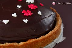 Crostata Sacher Veg http://blog.giallozafferano.it/pasticcidialice/crostata-sacher-veg/