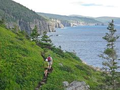 Hiking the East Coast Trail in Newfoundland. #MeetTheMoment