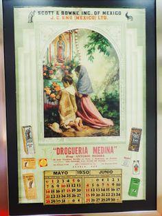 Calendarios mexicanos - Jesús Helguera E.