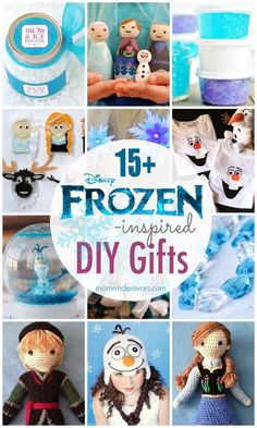 15+ DIY Disney FROZEN Gifts - so many great ideas!!