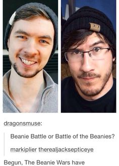 I've always loved beanies now I have two reason to love them. XD