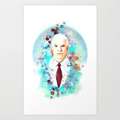 Steve Martin @SteveMartinToGo  Art Print for sale by Rene Alberto - $18.72