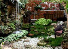 стилизованный уголок сада в Японском стиле - Поиск в Google