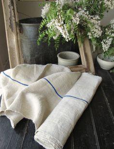 Homespun linen - yes please