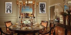 Renaissance Suite | The Venetian® Las Vegas Dining Room