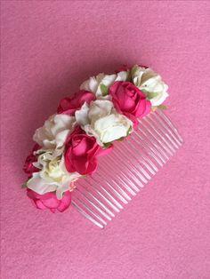 Peina de flores artesanal. Envíos a toda España, visita nuestra tienda online. boutiqueguadaluperuiz.com