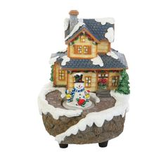 Puleo Animated Resin Village Scene with LED Lights ($107.96 Ace Hardware)