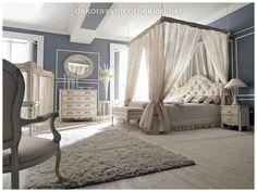 Small bedroom layout ideas narrow bedroom ideas elegant bedroom ideas for small rooms wall blue wall Romantic Bedroom Design, Romantic Master Bedroom, Master Bedroom Design, Bedroom Designs, Narrow Bedroom, Small Room Bedroom, Small Rooms, Tent Bedroom, Bedroom Decor