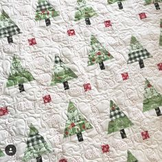 """375 Likes, 15 Comments - Amber Johnson (@gigis_thimble) on Instagram: """"Happy December 1st friends! I'm swooning right now over this beautiful Rustic Pines quilt made by…"""""""