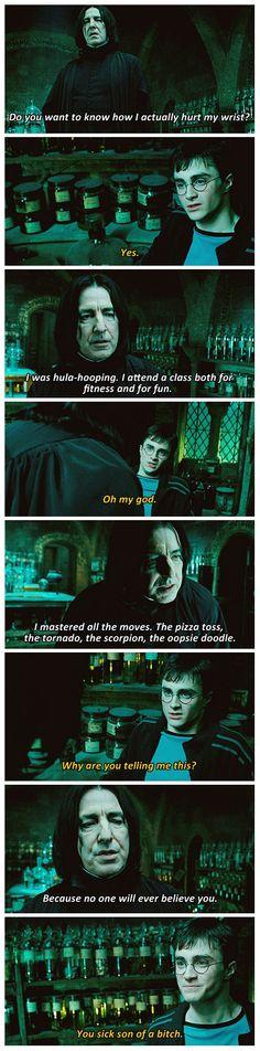 Harry Potter & Snape