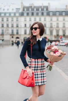 Looks Mode and The City Preppy Outfits City Mode Girly Outfits, Classy Outfits, Vintage Outfits, Cute Outfits, Fashion Outfits, Womens Fashion, Preppy Dresses, Casual Preppy Outfits, High Fashion
