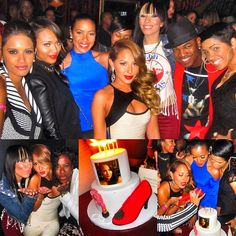 Adrienne looked GORGEOUS at her 29th birthday party in Hollywood this past week with Julissa & Ne-Yo! #StyleNetwork #EmpireGirls