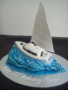 Inspired by mamacc's boat cake :)