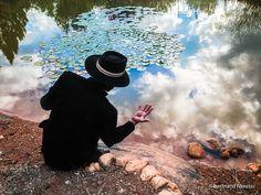 L'œil de la connaissance - 259/365 Escargot pacifique devant le miroir de la vie…