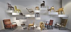 15 beautiful furniture collections at the world's museums - Curbedclockmenumore-arrow : From period rooms to hand-carved chairs, the best furniture on display Art Furniture, Furniture Design, Furniture Chairs, Plywood Furniture, Furniture Stores, Cheap Furniture, Modern Furniture, Comfortable Accent Chairs, Accent Chairs For Living Room