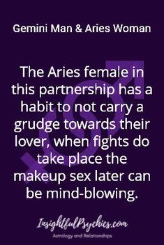Gemini Man Aries Woman in regards to relationships Gemini And Aries Relationship, Gemini Men Relationships, Gemini Life, Aries Zodiac Facts, Aries Astrology, Libra, Horoscope Memes, Horoscopes, Gemini Man In Love