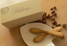 and charming... Poilane's sesame-flavoured fork biscuits