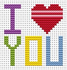 Sew Simple I Love You cross stitch kit [SS-LY] Ideal for beginners however please ensure young stitchers are supervised. These kits introducing symbols on to charts, but still with colour blocks, for those who are learning how to cross-stitch. Finished size approx 6.4cm x 6.7cm. Kit contains11ct white aida fabric, stranded embroidery cotton, needle, colour chart and instructions. A brand new kit will be sent directly to you by Fat Cat Cross Stitch - usually within 2-4 working days © Fat...