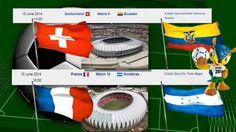 Mondiali 2014 in Brasile Gruppo E Calendario Partite