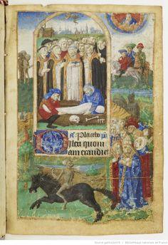 Horae ad usum parisiensem [dites Heures de Jeanne de France ] . | Gallica
