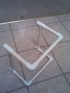 """First off, This is my first instructable. This isnt my original idea but i haven't ever came across an instructable for how to make this so i decided to make one to share with every one. the original instructions that i found was on one of the first links on google after searching """"pvc toddler chair"""" they also have instructions on how to make the actuall sling part of it that the kids sit in but im not guna add that part just pictures of it(plus the wife is guna sew them... Spray Paint Plastic, Painting Plastic, Pvc Chair, Toddler Chair, Pvc Pipe, Garden Chairs, Easy Projects, The Originals, Home Decor"""