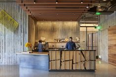 World Architecture Community News - David Baker Architects completes a guest house with redwood sun shading panels in Healdsburg David Baker, Event Room, Restaurant Offers, Ground Floor Plan, Hotel Lobby, Park Hotel, Room Planning, Rooftop Bar, Lobbies