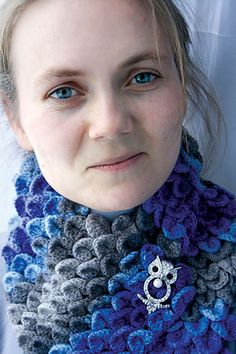 Ravelry: catrionaobrians Sea Snake scarf
