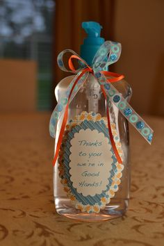 Teacher Hand Sanitizer Gift