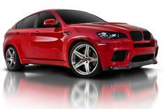 BMW X6 ~ red