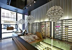 The Counter optics by Raed Abillama Architects, Beirut store design