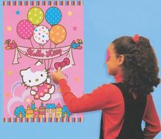 Hello Kitty Birthday Party Idea
