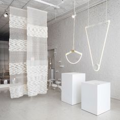 During this year's NYCxDESIGN, the New York City design co-op, Colony, presented an exhibition of work, entitled Lightness: the full spectrum. Coffee Shop Design, Light Architecture, Luxury Lighting, Light Installation, Ceiling Lamp, Pendant Lighting, Colonial, New York, Politics